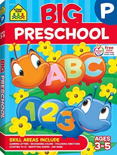 Big Preschool Workbook School Zone