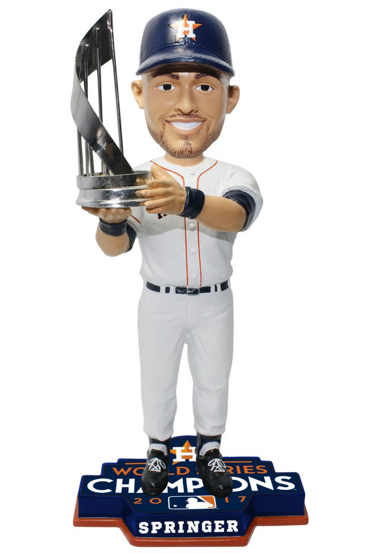 George Springer Houston Astros 2017 MLB World Series Champions MVP Bobblehead
