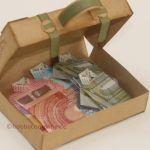 Verpackung Koffer für Geldgeschenke
