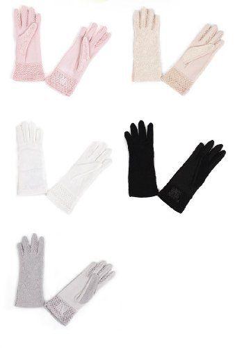 Female kurzen Absatz bezieht sich auf den Frühling und Sommer Spitzen Handschuhe, Sonnencreme UV Schutzhandschuhe Auto Skid TGLOE, http://www.amazon.de/dp/B00D1G9M5Y/ref=cm_sw_r_pi_dp_CB41rb1TDHGVA