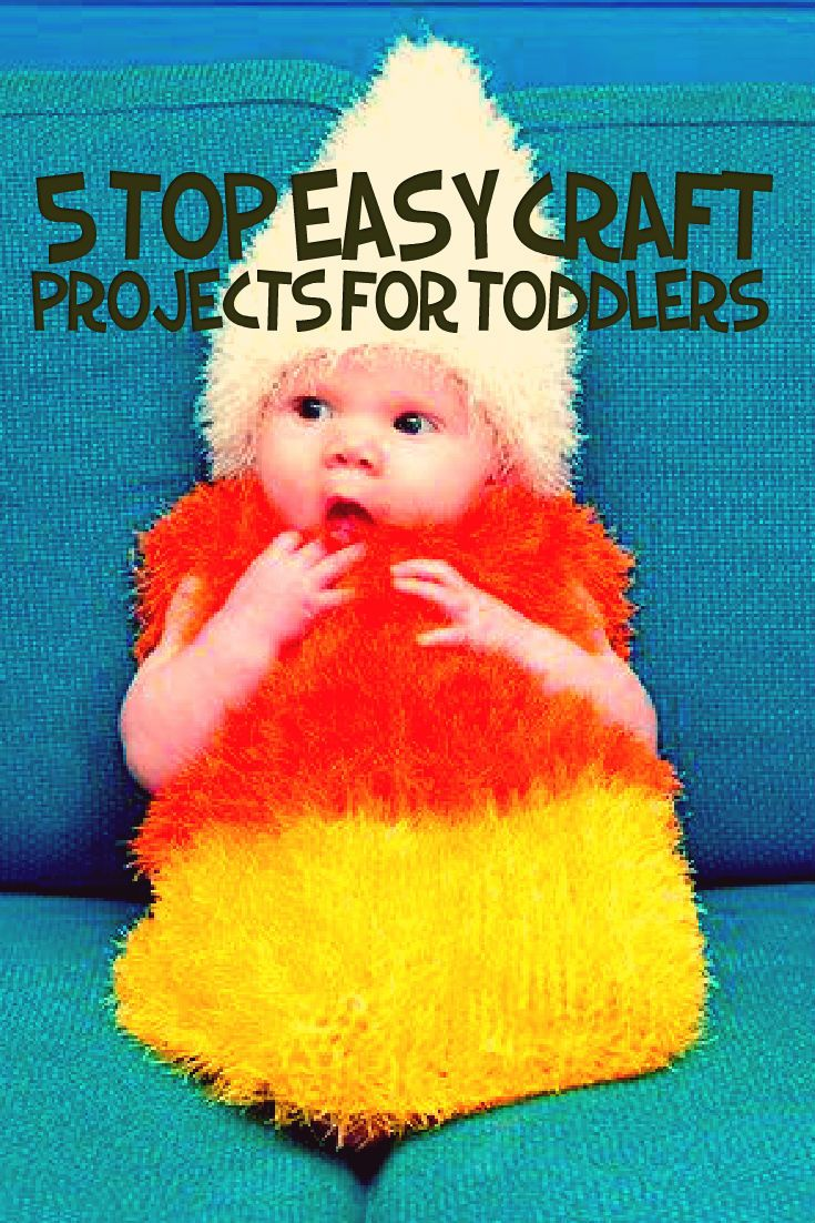 5 Top Easy Craft Projects For Toddlers Does your kid love to play with those bright and beautiful colours and often spend time in designing those innovative crafts? If yes, here are some easy craft projects for toddlers, which your little one would love to do.  Without much ado, let's take a look at them! #Toddlers #Craft  #Projects