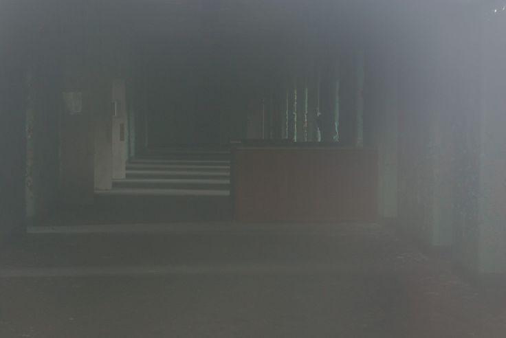 The women's ward, long abandoned.