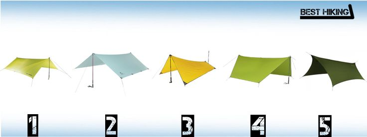 The Best Lightweight Tarps for Hiking