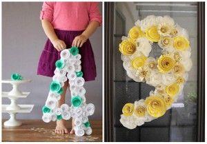 Numeros gigantes para decorar en fechas especiales | Manualidades