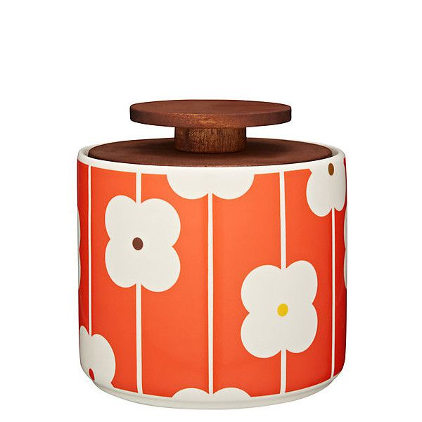 Orla Kiely Storage Jar 1l - Abacus Red – Kiitos living by design