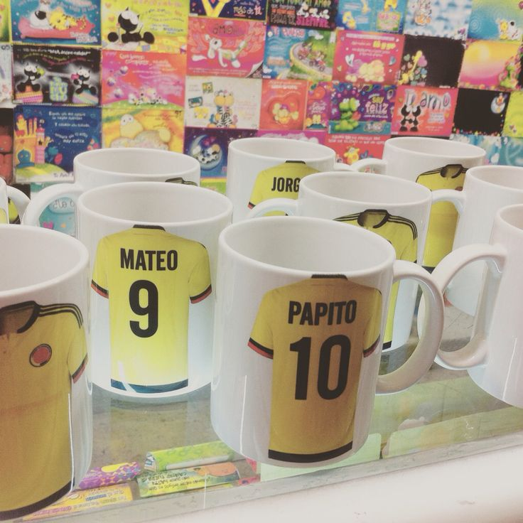 Mug selección colombia
