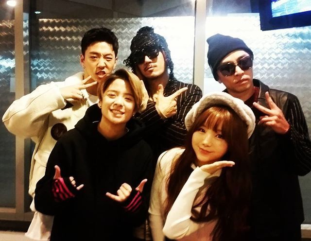 [SBS Super Model Contest] Performers B.A.P Yongguk, Tiger JK, Bizzy, f(x) Amber and Lovelyz Kei