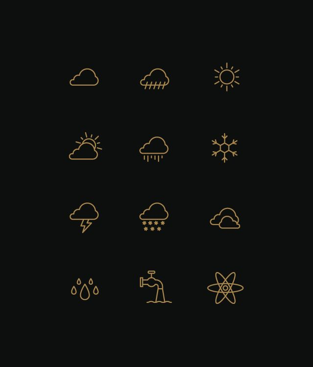 weather icons by Designer & Illustrator based in Amsterdam, The Netherlands.    For inquiries  tim@timboelaars.nl