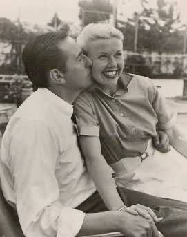 Doris Day with husband Martin Melcher)To Martin Melcher, whom she married on April 3, 1951. This marriage lasted until Melcher's death in 1968. Melcher adopted Day's son Terry, who, with the name Terry Melcher, became a successful musician and record producer.[74] Martin Melcher produced many of Day's movies. She and Melcher were both practicing Christian Scientists, resulting in her not seeing a doctor for some time after symptoms that suggested cancer.