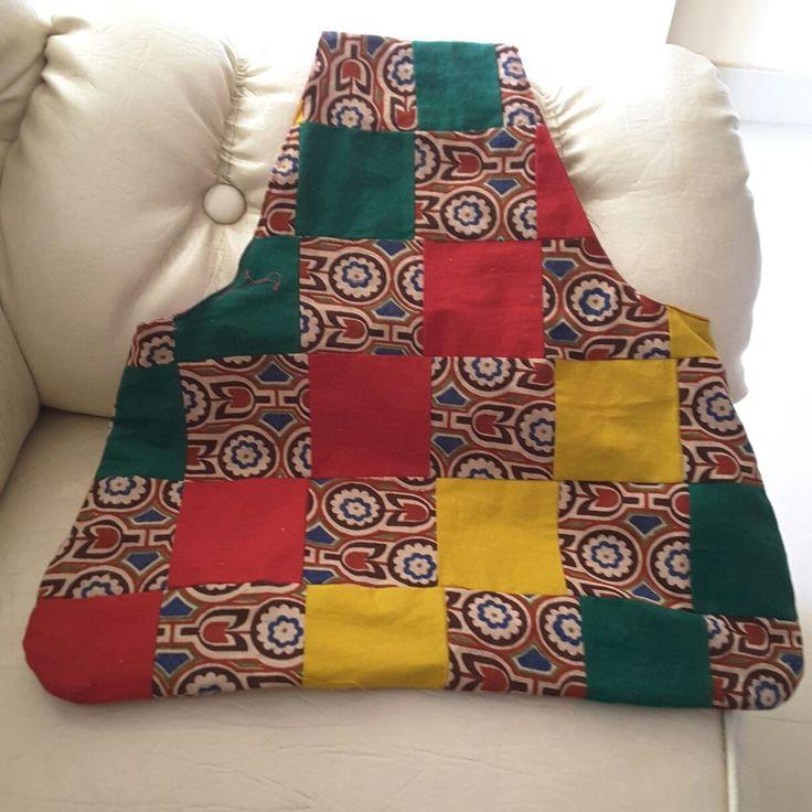 Patchwork bag no pattern inspiration only