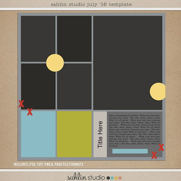 31 best images about free digital scrapbooking templates on