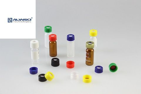 2ml clear&amber vial Smooth Screw cap and Ribbled Screw cap