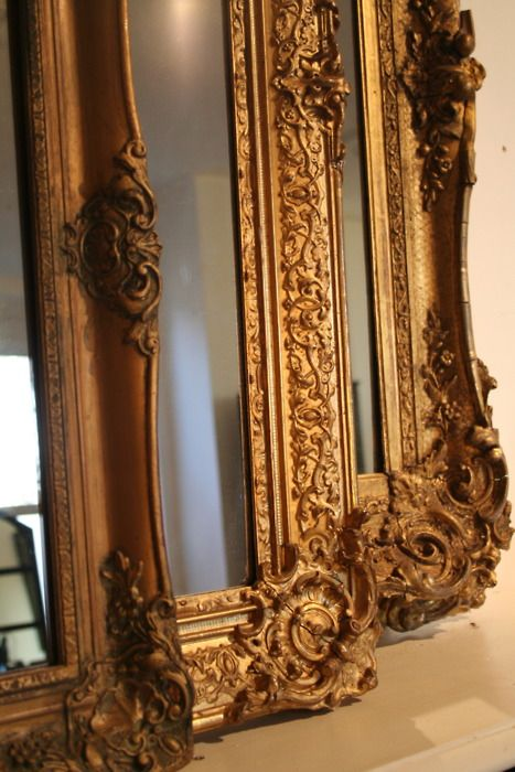 You could gild a frame yourself using the Amy Howard At Home gilding supplies