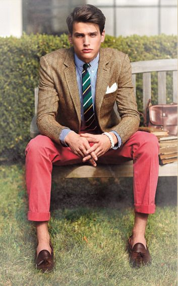 Rugby by Ralph Lauren) #preppy #casual #TasselLoafers