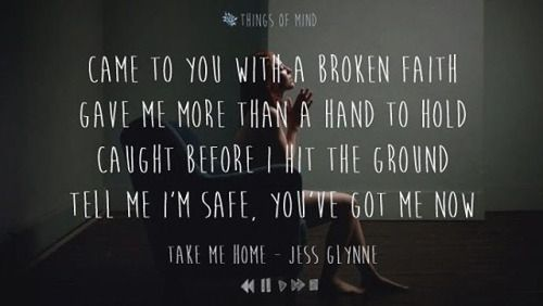 Jess Glynne - Take Me Home ♥ #lyrics