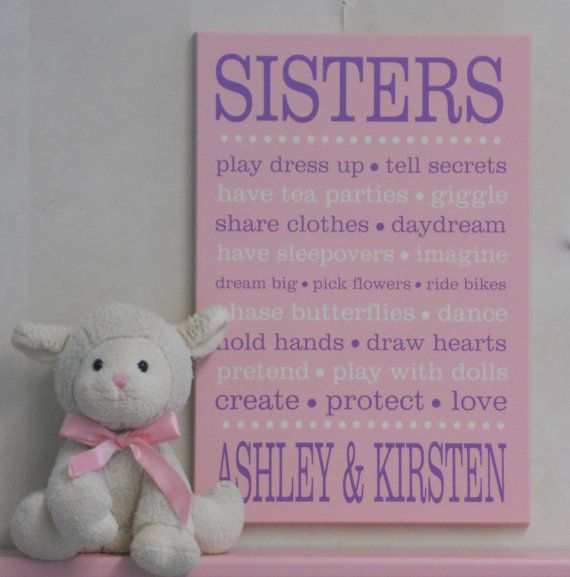 Sisters Sister Sayings Sisters Sign Sister Personalized