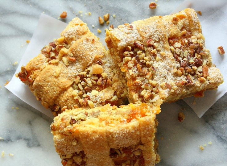 Jane's Sweets & Baking Journal: Layered Apricot Bars . . . and Going with the Flow