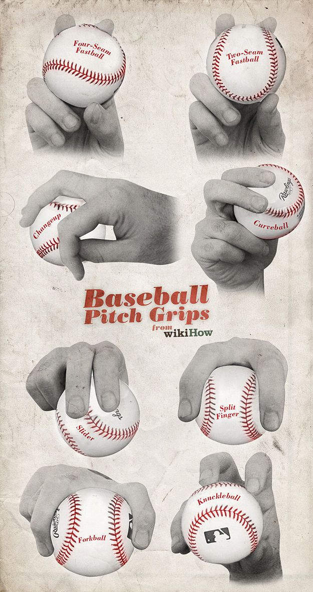 This reminds me of when I used to coach.  I liked to teach the circle change up grip!