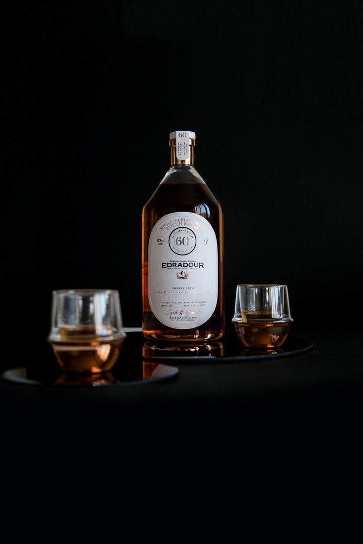 Edradour Whisky - Concept bottle & glass