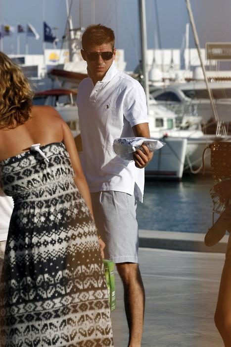 Is that Steven Gerrard?! He looks ace!