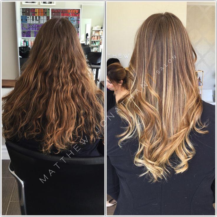 Great #hairtrends #flamboyage #Balayage #Sombre #Ombre #MatthewJonathan #Stylist  #Oakville