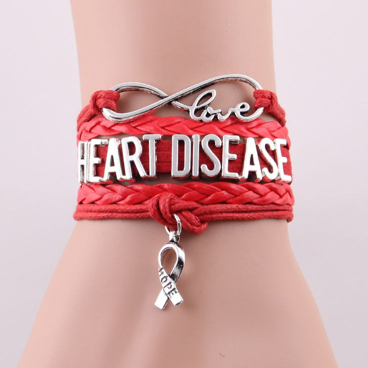 Бесконечность Любовь надежда Шарм Сердца браслет медицинские Осознания браслеты и браслеты подарок для женщин людей ювелирные изделия Груза падения