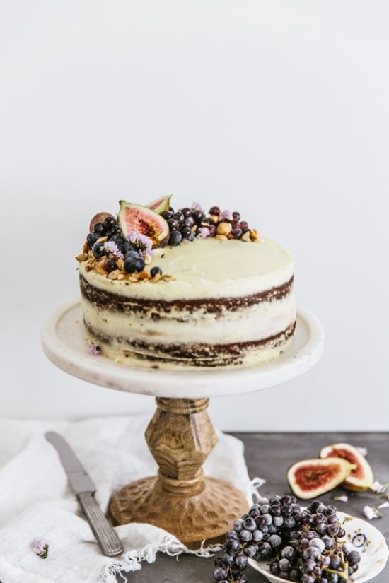 Hazelnut Torte with Mascarpone Icing | emmaduckworth.com.au