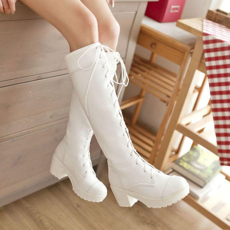 Harajuku bind shoelaces martin boots
