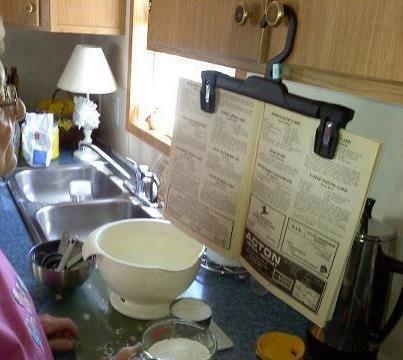 """""""Manos libres"""" en la cocina!!"""