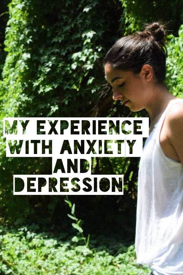 Blog post - My experience with Anxiety and Depression. Love and Flourish