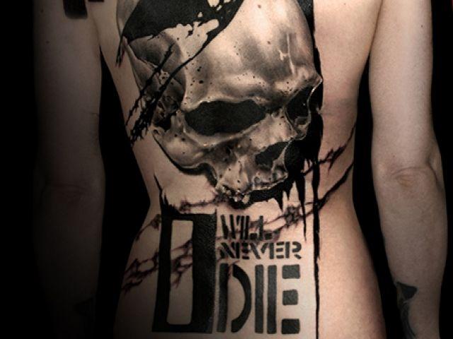 Tattoo Gallery - Trash Polka Tattoos by Volko Merschky & Simone Pfaff