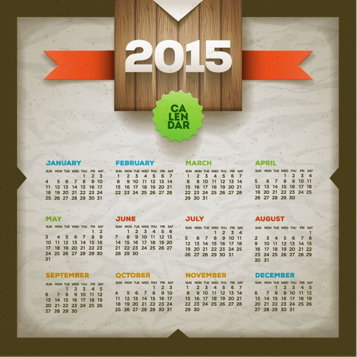 195 best 2016 CALENDARS images on Pinterest 2016 calendar - sample 2015 calendar