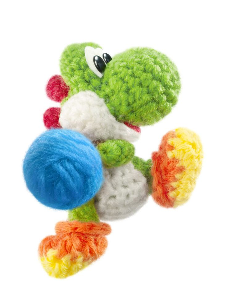 Yoshi's Woolly World ♡ This and Kirby's Epic Yarn are beautifully made games.