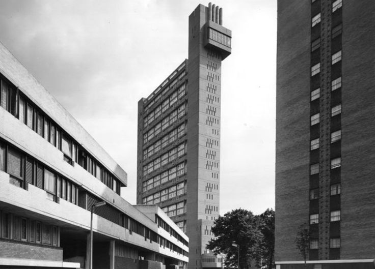 Built by Modernist architecht Erno Goldfinger, Trellick Tower is one of Britain's most famous council housing blocks.