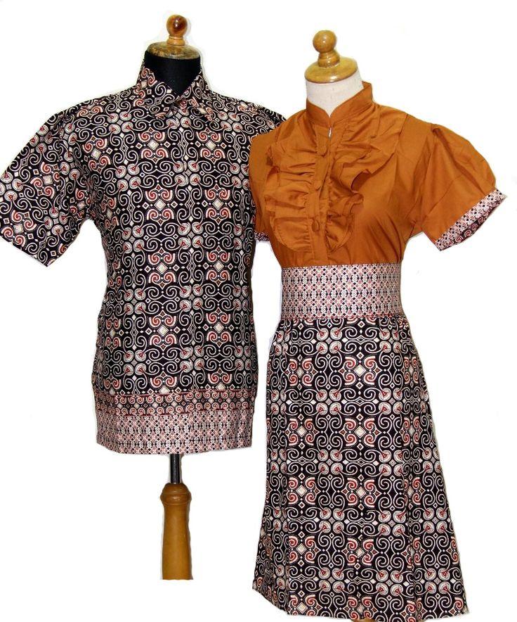 Desain Baju Batik Modern Terbaru