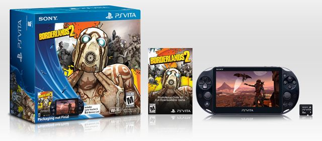 Borderlands 2 Playstation Vita Slim 2000 Bundle