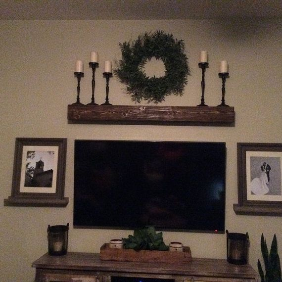 Fireplace Mantle .60 Long X 5.5 Tall X 9 By CCDonerDecor On Etsy. Rustikaler  ...
