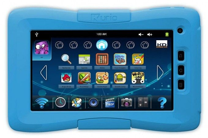 Kurio 7 Family Tablet with loads of educational apps, games, and EIGHT Parental Controls. :)