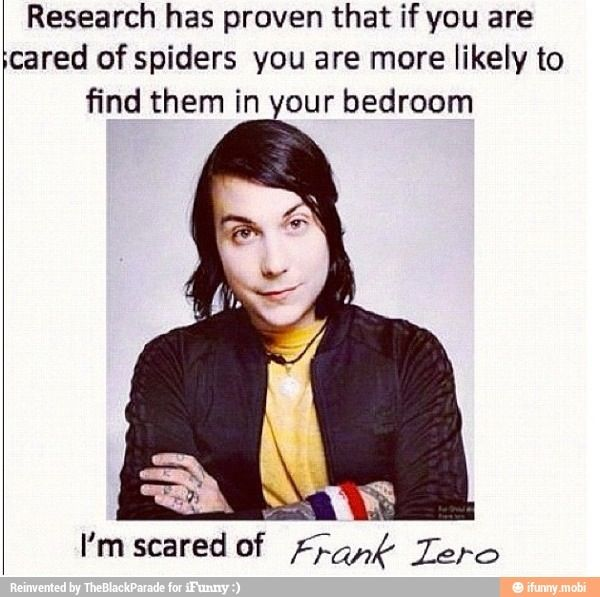:) I'm suddenly very afraid of Frank I now have frankphobia