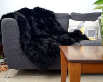 black fox blanket