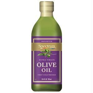 Spectrum Naturals Unrefined Extra Virgin Olive Oil ( 6x8 Oz)