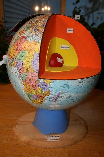 planet earth map school project - photo #27