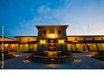 Casa Real at Ruby Hill Winery Wedding in the Bay Area Wedding Location Pleasanton CA Wedding Site 94566