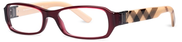 Burberry glasses...I'll take those : )  well, actually, I just ordered some, but the front part around the lenses is a bit different. LOVE the Nova Check side bow though!