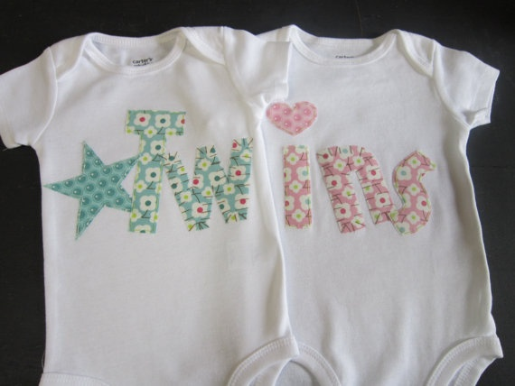 Too cute!:  T-Shirt, Gifts Ideas, So Cute, Jersey,  Tees Shirts, Boys Girls Twin, Twin Baby Gifts, Twin Onesie, Twin Boys