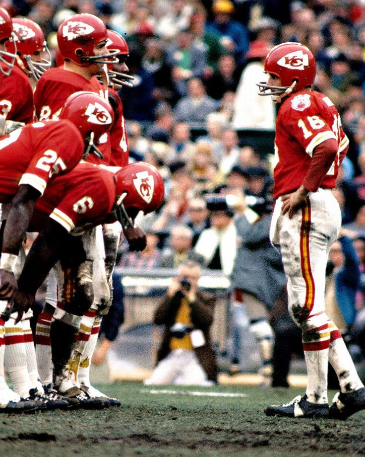 Len Dawson, Kansas City Chiefs, #16 QB of alltime. 3-1 record in Pro Football Championship games.