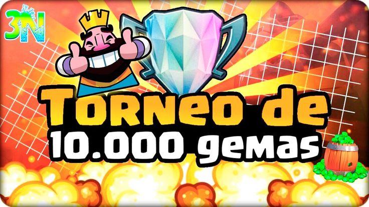 TORNEO DE 10,000 GEMAS   LOS MEJORES MAZOS   ANALISIS   Clash Royale con...