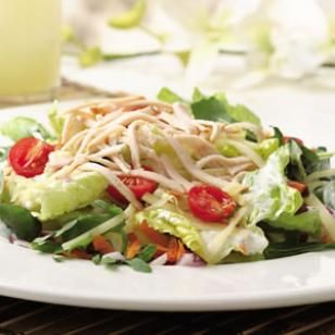 You can feel satisfied and #nourished with this excellent colorful and #healthy #salad. #nutrition Know the #recipe!