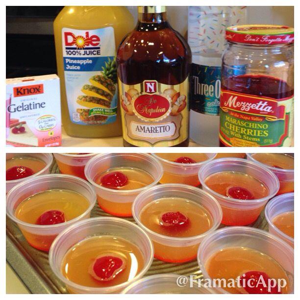 Pineapple Upside Down Cake Martini Recipe Amaretto