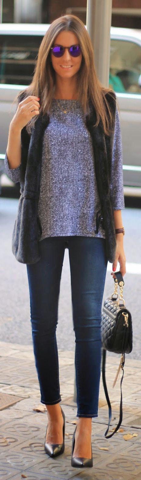 Purple Sparkle Blouse by BCN Fashionista